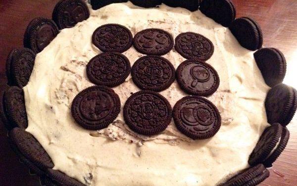 Receta de Cheesecake de Oreo sin horno