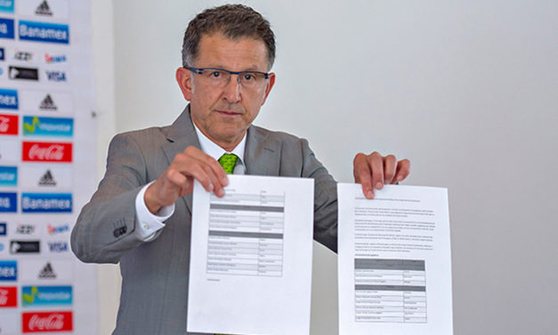 Osorio da a conocer los 23 mexicanos que jugarán la Copa América Centenario 2016