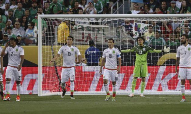 Chile goleó a México 7 – 0 y clasificó a Semifinales