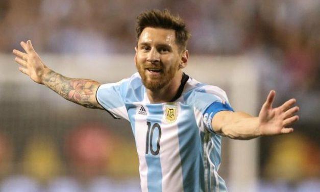 Argentina golea 5 – 0 a Panamá con triplete de Messi