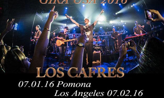 Los Cafres presentan su Gira USA 2016