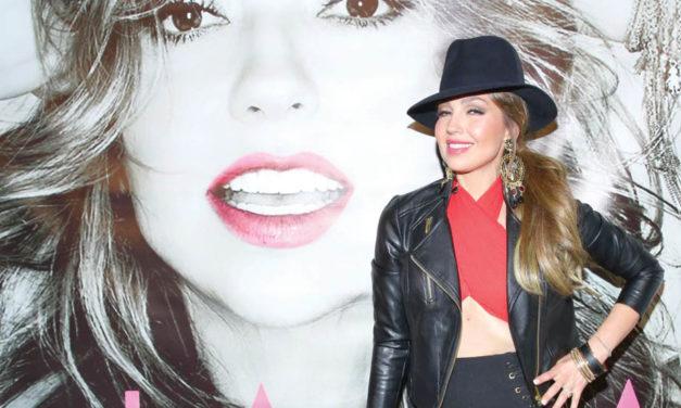 Thalia regresa con nuevo disco 'para pasarlo bien y celebrar la vida'
