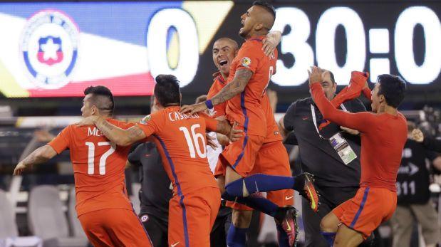 ¡Chile campeón de Copa América! Venció a Argentina en penales