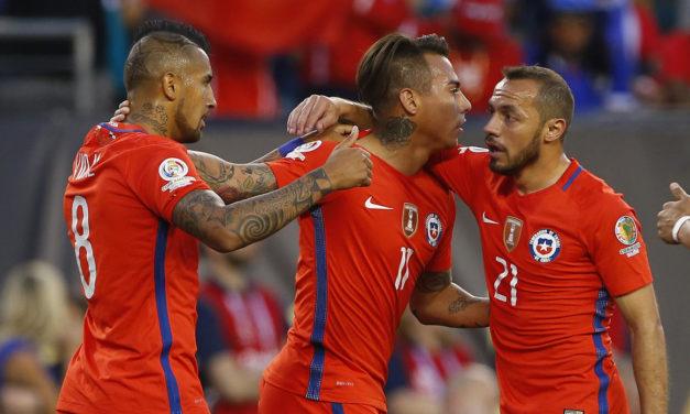 Chile Vs Panama (4-2)