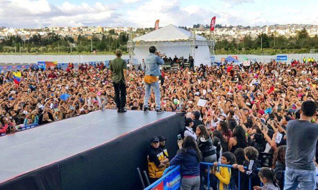 Chino & Nacho se unen a concierto benéfico para los damnificados del terremoto en Ecuador