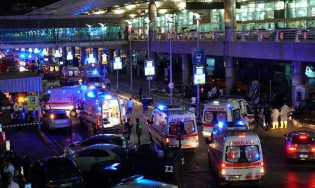 Ataque terrorista en aeropuerto de Estambul deja al menos 36 muertos y 147 heridos