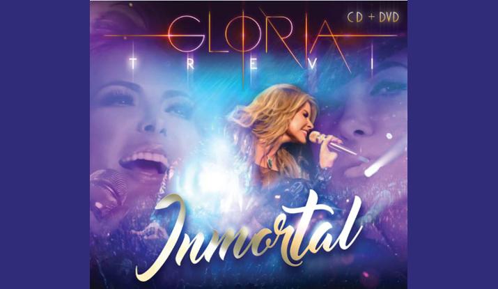 Gloria Trevi, arranca el estreno Inmortal con el pie derecho alcanzando la posición #1 en Estados Unidos y Puerto Rico