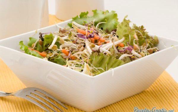 Receta de Ensalada japonesa con zanahoria