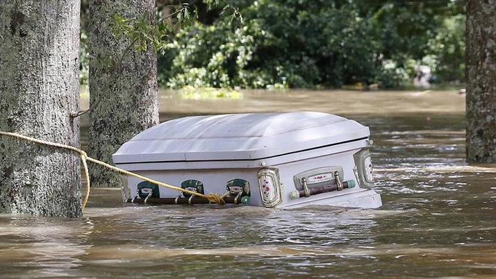 Inundaciones en Luisiana son consideradas el peor desastre en Estados Unidos desde huracán Sandy