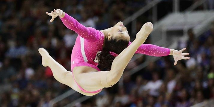 Laurie Hernández es el orgullo latino del equipo de gimnasia olímpica de EEUU
