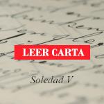 Carta al Editor de Soledad V.