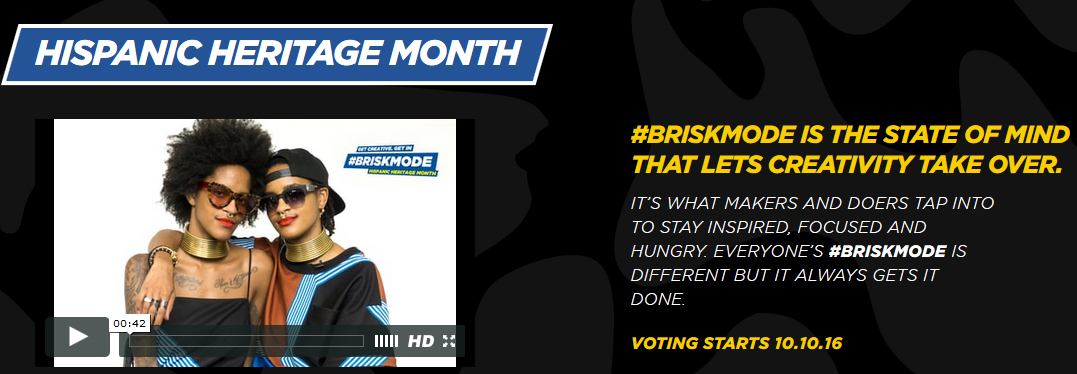 Permite que tu creatividad triunfe #BRISKMODE