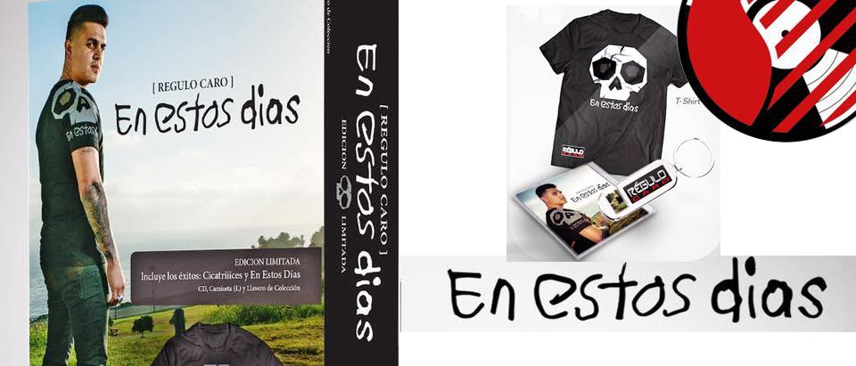 Regulo Caro Lanza su quinto álbum de estudio «EN ESTOS DIAS»
