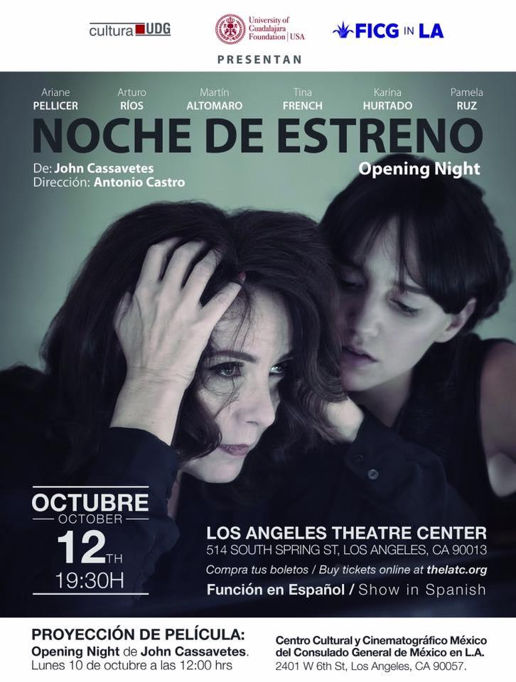 Noche de Estreno en Los Angeles Theatre este 12 de octubre.
