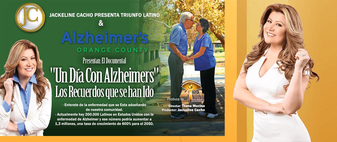 AOC presenta «Un día con la enfermedad de Alzheimer» Documental de Jackeline Cacho