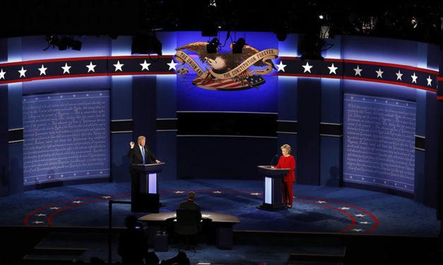 Clinton y Trump, el primer debate