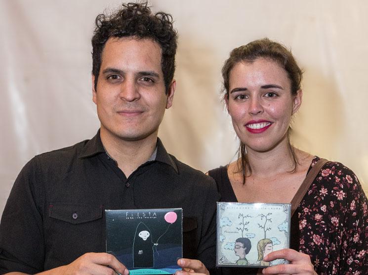 Alejandro & María Laura interpretan en Hollywood Forever Cementery