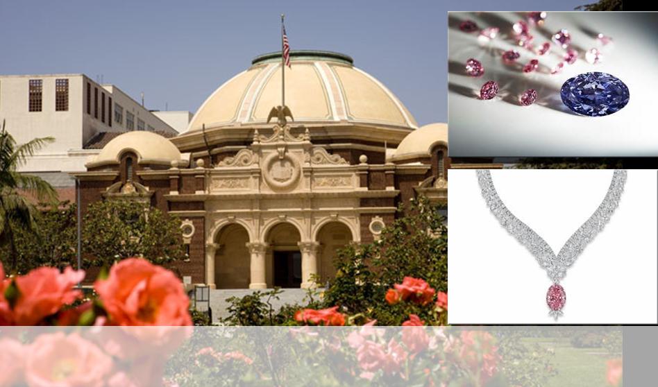 """La exposición de Diamantes y Brillantes raros ya está por comenzar """"Museo de historia Natural"""""""