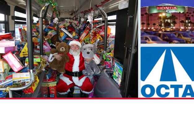 Únete a OCTA y Échale la mano a Santa en el Honda Center Mañana viernes 16