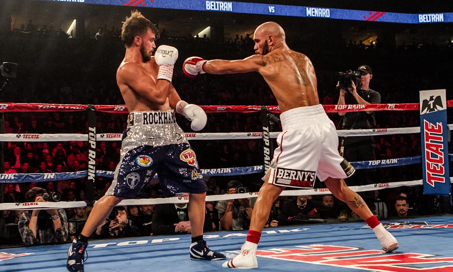 Raymundo Beltrán Nominado como el Knockout del año persigue el título mundial