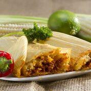 Una receta muy tradicional para esta Navidas, Tamal Rojo con Carnitas