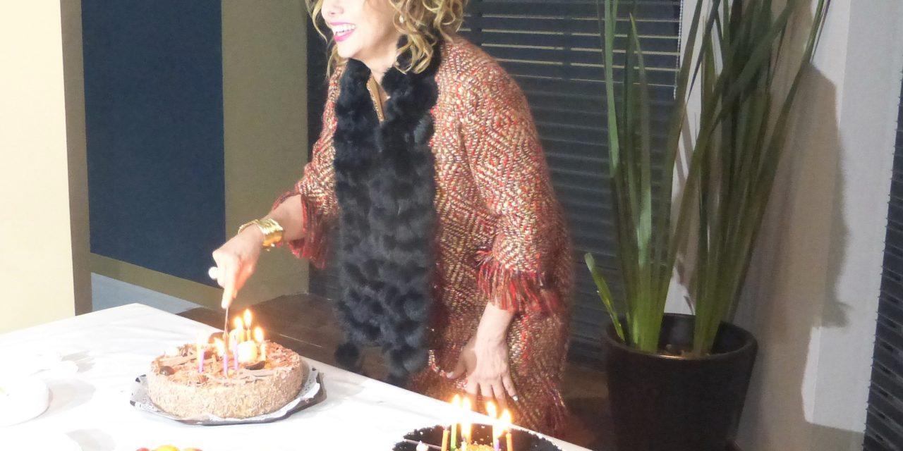 La producción de Mi adorable maldición celebró el cumpleaños  de Cecilia Gabriela
