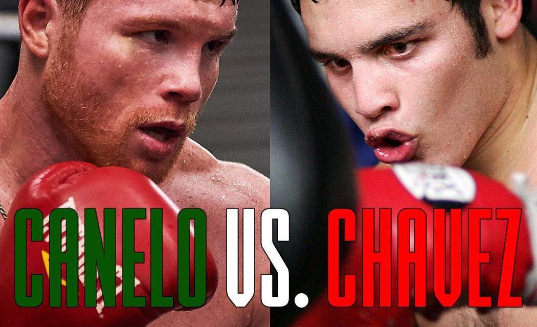 La pelea Canelo vs Chavez Jr. ya tiene fecha