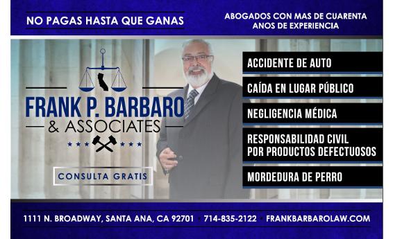 Abogado Frank P. Barbaro
