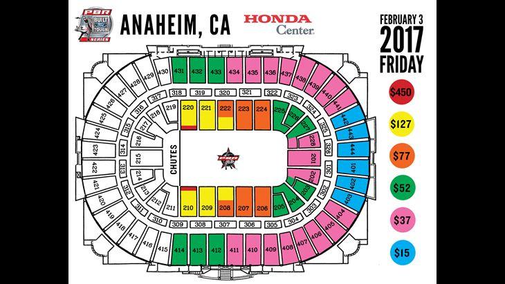 El veinteavo espectáculo con los mejores jinetes de PBR en el Honda Center inicia el 3 de Febrero