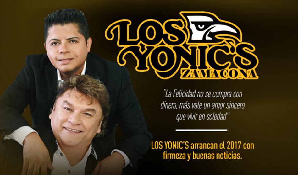 El nuevo material de los Los Yonic's une generaciones el mes del amor