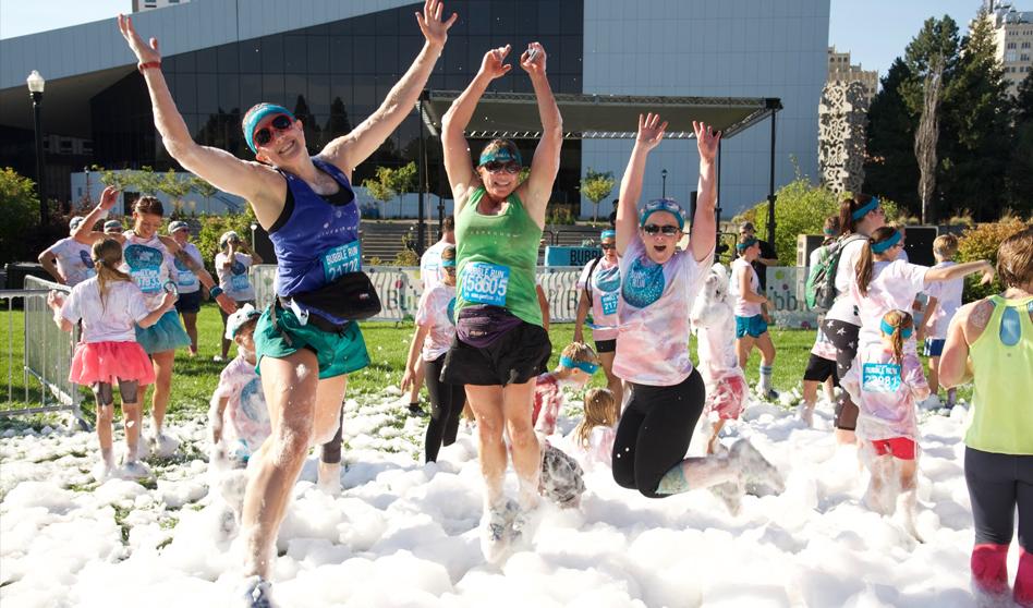 Bubble Run llega a Anaheim CA. El 25 de Marzo