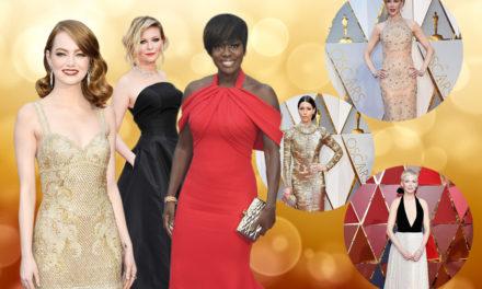 Los mejores atuendos del Oscar 2017
