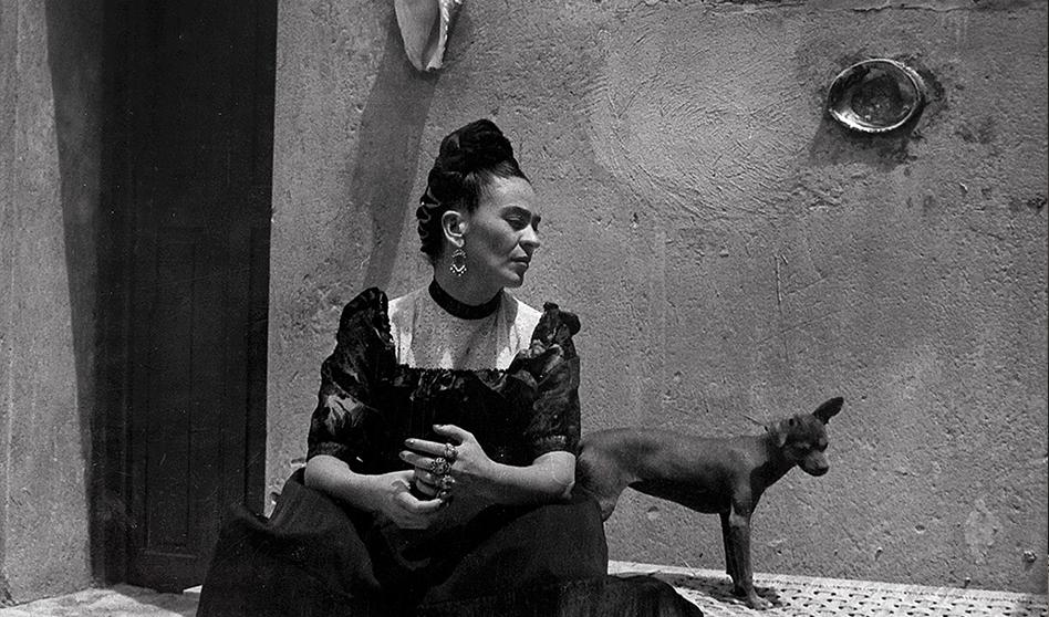 Frida Kahlo «Sus Fotos A lo largo de su vida» at Bowers Museum.