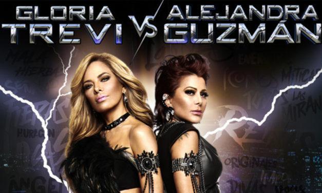 Gloria Trevi Comparte escenario con  Alejandra Guzmán