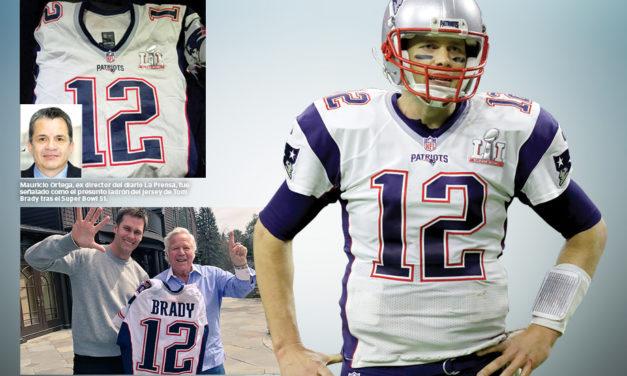 Jersey robado de Tom Brady, recuperado