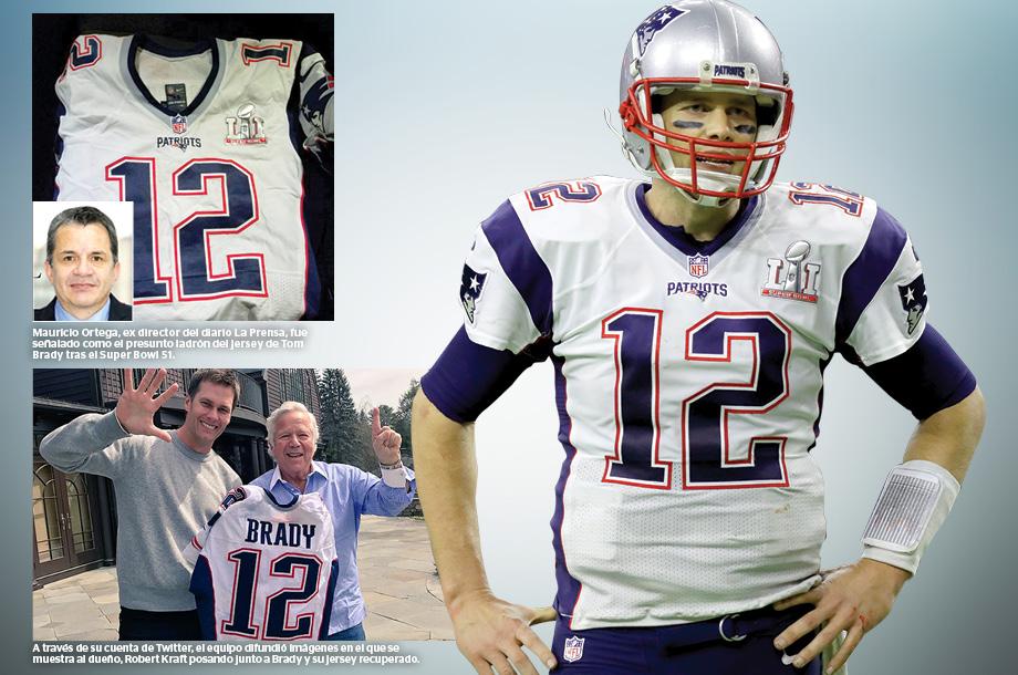 Jersey robado de Tom Brady, recuperado | Miniondas Newspaper y ...