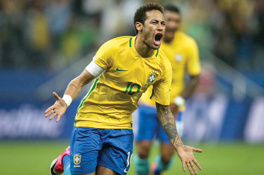 Brasil, primer  clasificado a Rusia 2018