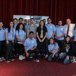 SANTA ANA HIGH SCHOOL  ACERCA PROFESIONALES EN LEYES Y ESTUDIANTES