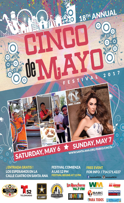 Santa Ana Cinco de Mayo en la calle cuatro