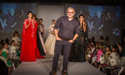 La pasión por los diseños Gionni Straccia, va más   allá de las reinas, ahora vistiendo a las novias