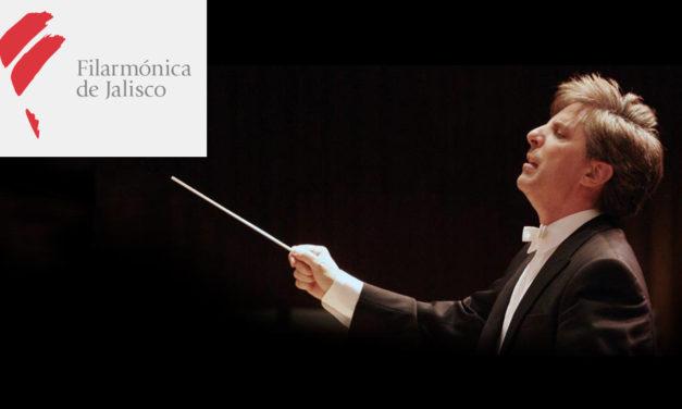 Marco Parisotto y La Orquesta Filarmónica de Jalisco