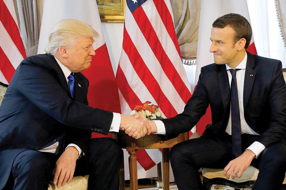 Cumple Trump su Primer Gira Internacional