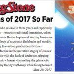 """ROLLING STONE  Nombra A  """"Mis Planes Son Amarte"""" De JUANES Como Uno De Los  """"50 Mejores Albums Del 2017 Hasta El Momento"""""""