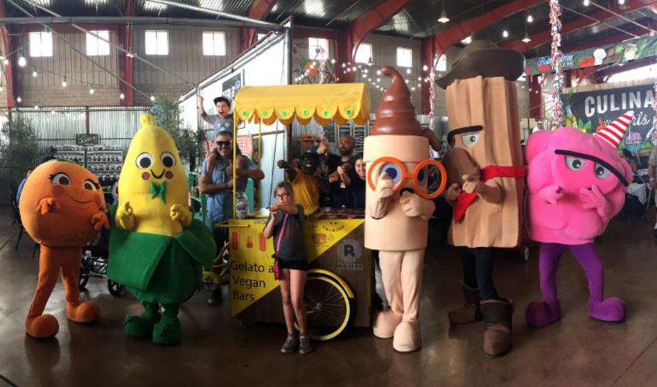 Celebramos el Día Nacional del Helado en la Feria!