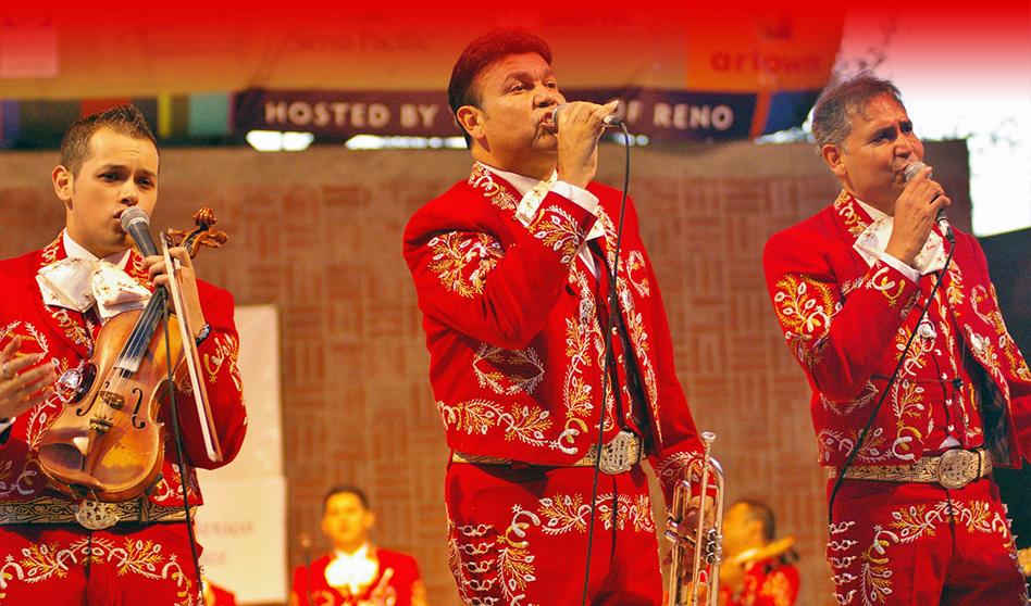 La Feria Brilla con la presencia del mariachi sol de México