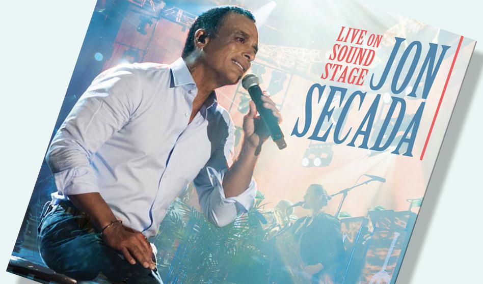 cantante y compositor cubano-americano Jon Secada con Nuevo material