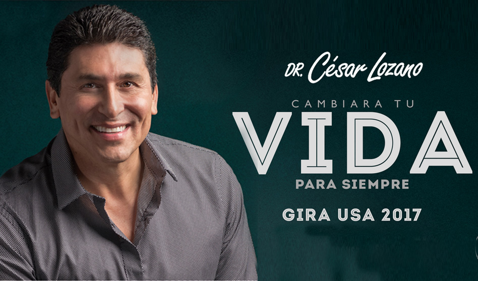 César Lozano Cambiando Vidas En Su Gira 2017