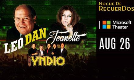 Leo Dan, Jeanette y Grupo Yndio En un Concierto para recordar