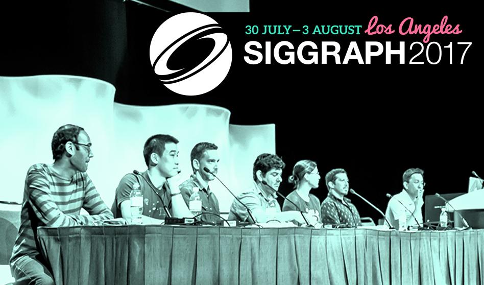 Se presentó en la ciudad angelina SIGGRAPH 2017