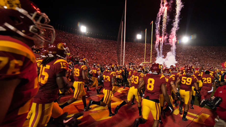 USC Trojans vs. Western Michigan Broncos on september 2